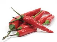 Capsaicin - chilis