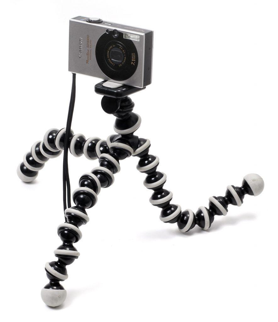 Use a camera tripod