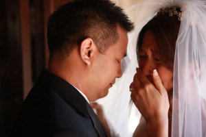 crying-bride-and-groom