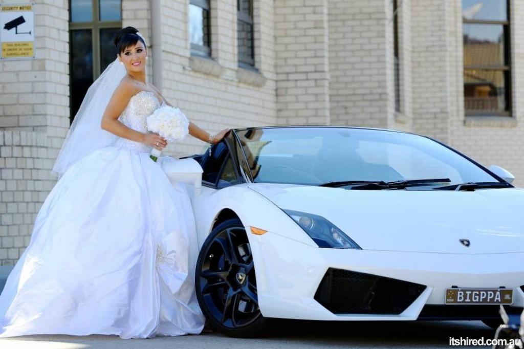 Wedding lambo