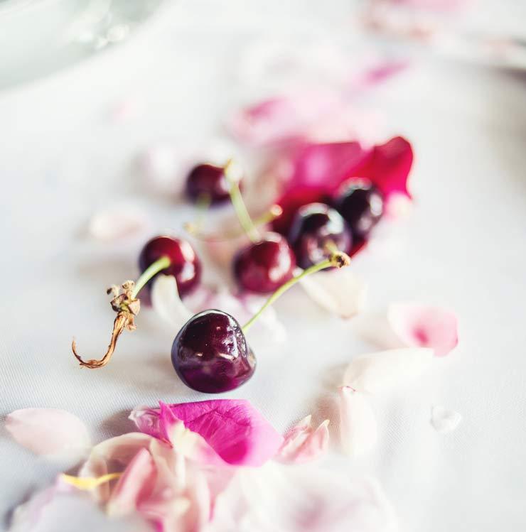Cherry confetti