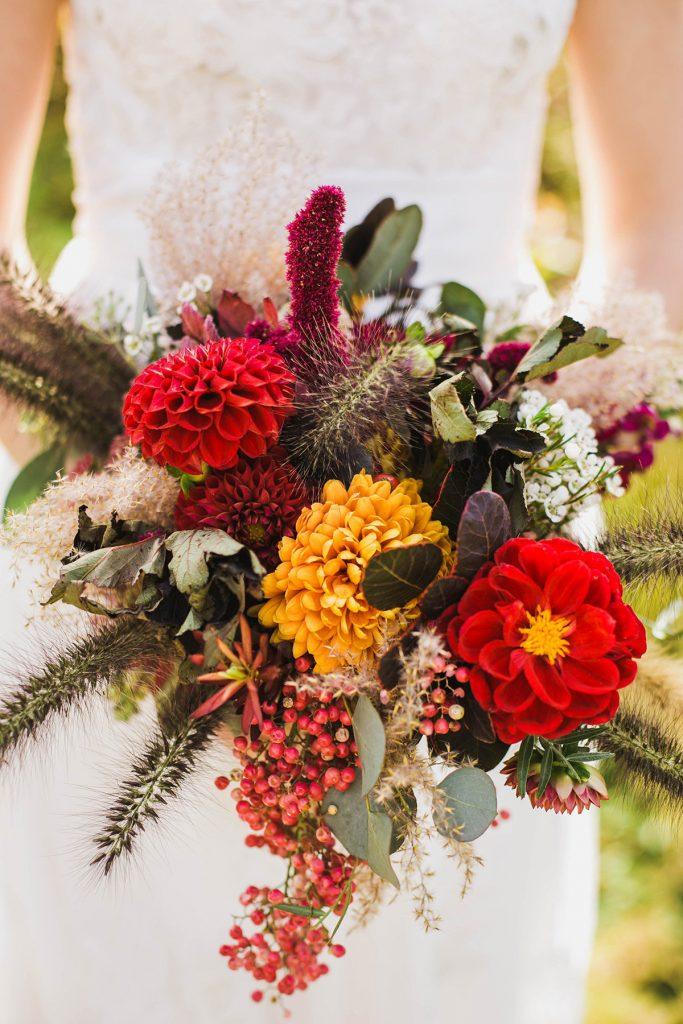 Fall wedding flowers - bouquet