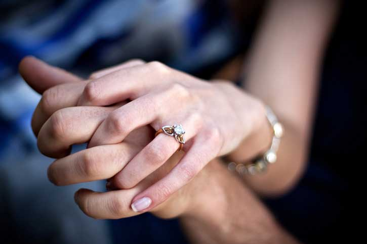 How much cash should you pay on an engagement ring?