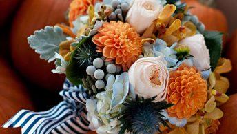 25 Fall wedding flowers ideas