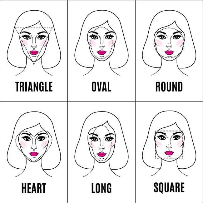 Earrings for every face shape